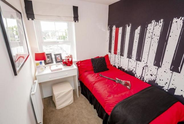 Tavistock single bedroom