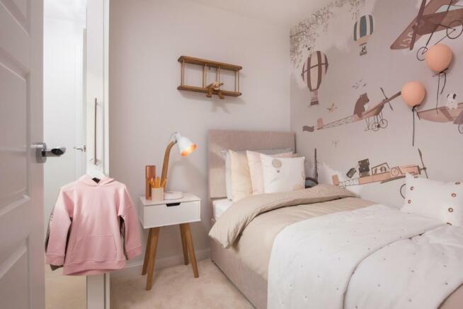 Lincoln single bedroom