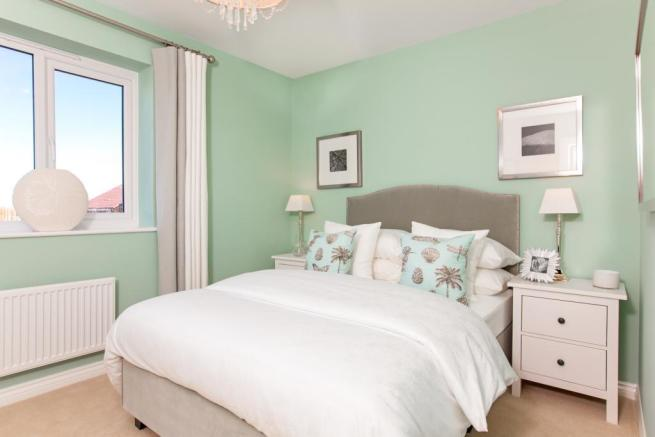 Actual show home at Sutton Grange