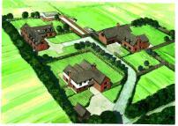 new development in White Stubbs Lane...