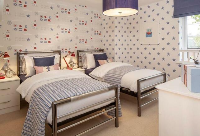 The Bradbury bedroom