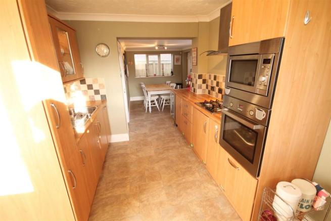 Open Plan Kitchen an