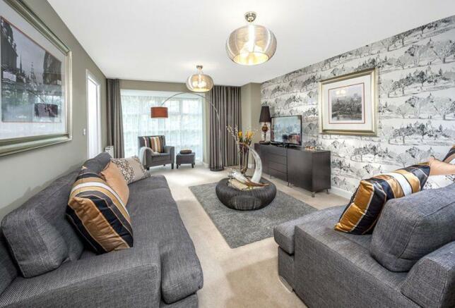 The Cambridge living room