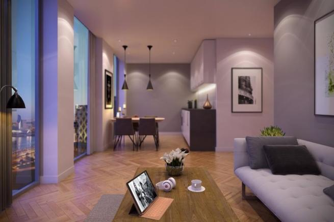 1 Bedroom Apartment For Sale In X1 Media City Tower 4