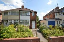 3 bed semi detached property to rent in Charlbury Crescent...
