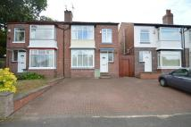 3 bedroom semi detached house in Lodge Hill Road...