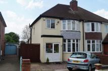 3 bed semi detached property in Sandon Road...