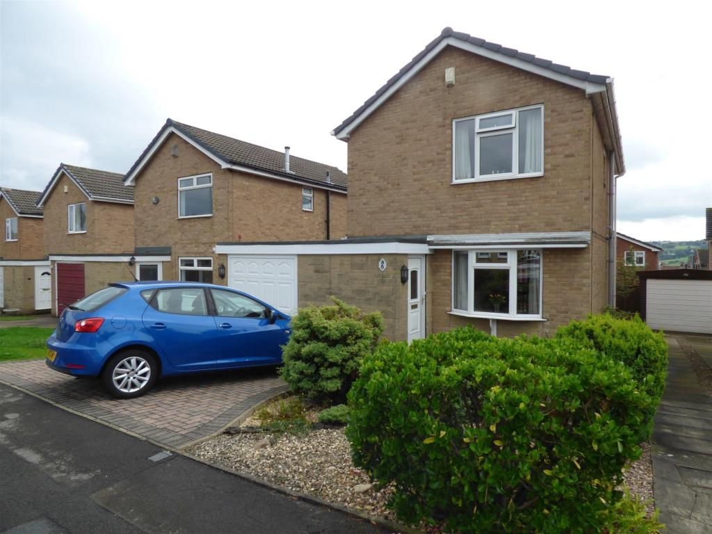 3 bedroom detached house for sale - Haworth Close, Mirfield, WF14 9DW