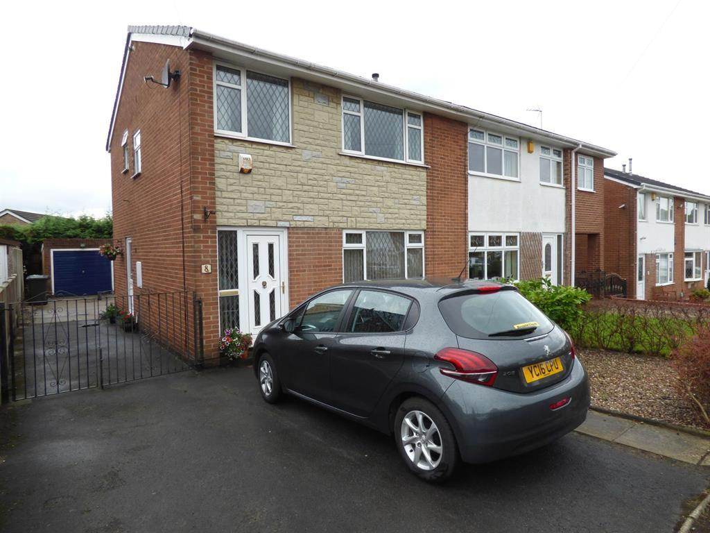 3 bedroom semi-detached house for sale - Foxroyd Avenue, Mirfield, WF14 9SW