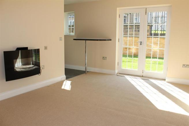 Living Room with Patio Doors