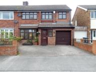 4 bed semi detached property in Northfield Drive...