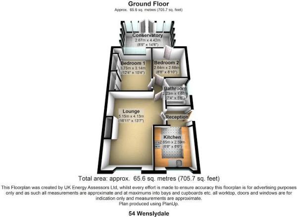 54 wensleydale floor