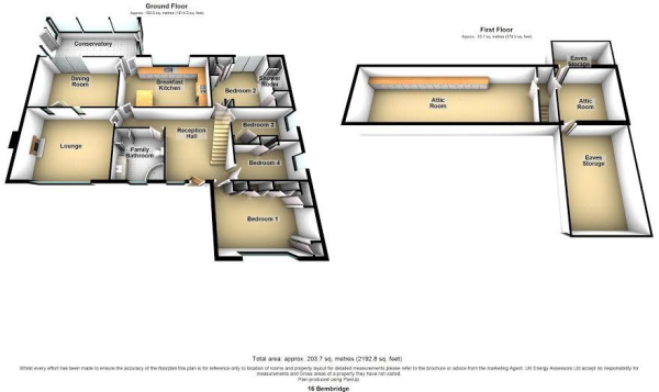 bembridge floor plan