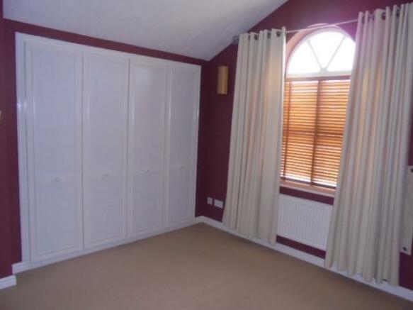Master bedroom built