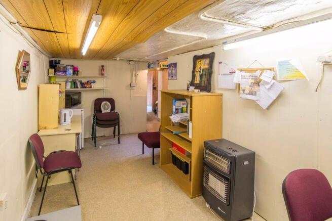 Office / Kitchen Area