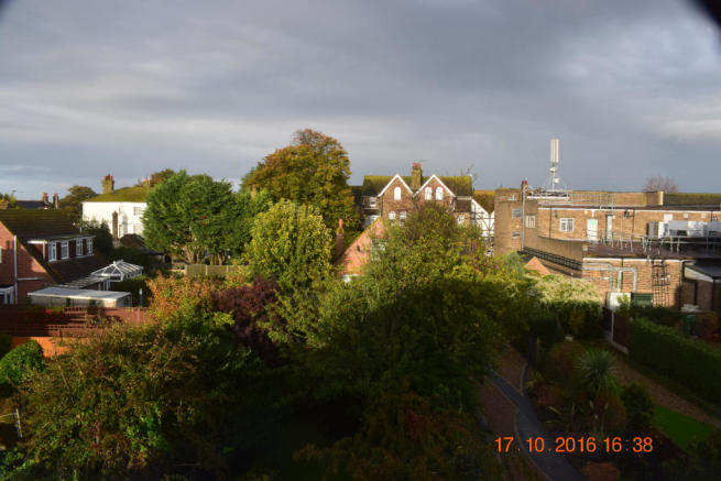 REAR GARDEN VIEW FROM MASTER