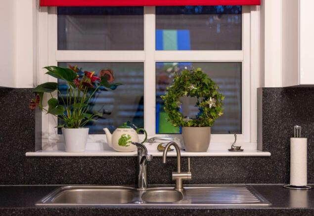 Lovely kitchen window