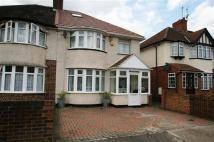 3 bedroom semi detached property in Wentworth Crescent, Hayes