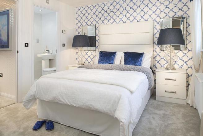 Master bedroom with en suite