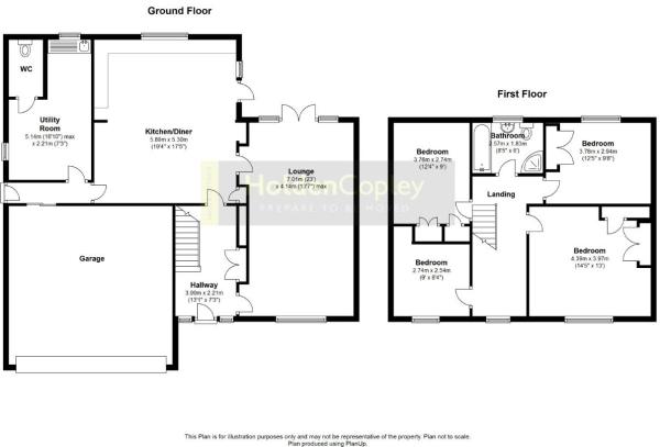 Floor Plan Fellside.