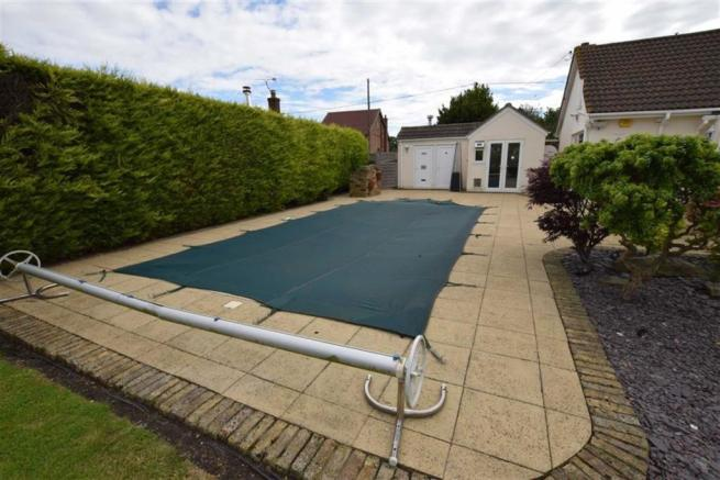 Outside Swimming Pool & changing room