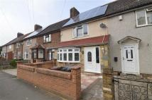Terraced house in Goresbrook Road...
