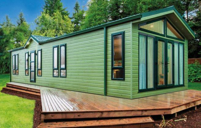 2 Bedroom Log Cabin For Sale In Prestige Quindi Highfield