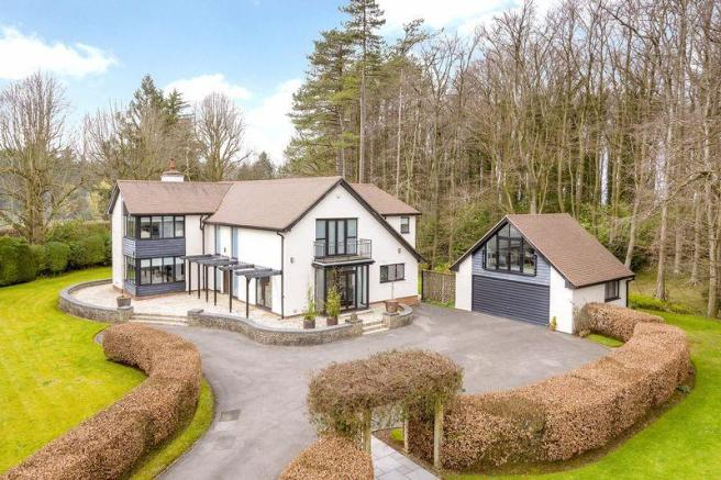 5 Bedroom Detached House For Sale In Cadbury Camp Lane North Somerset Bristol Bs20
