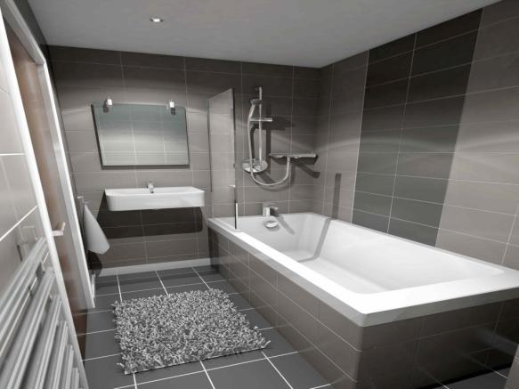 grove house bathroom