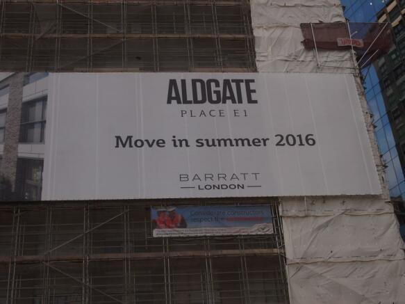 Aldgate Place Sign