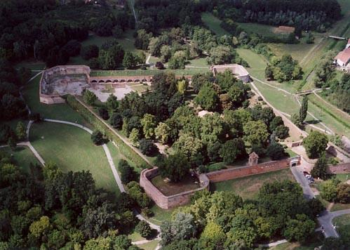 Arial view Szigetvar