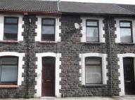 3 bed Terraced home in River Terrace, Porth