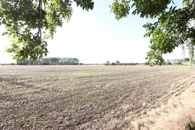 Garden Views over countryside