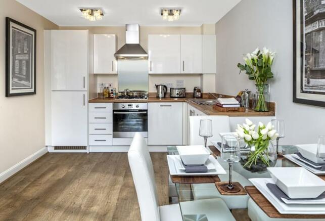 Typical Barratt Show Home Interior