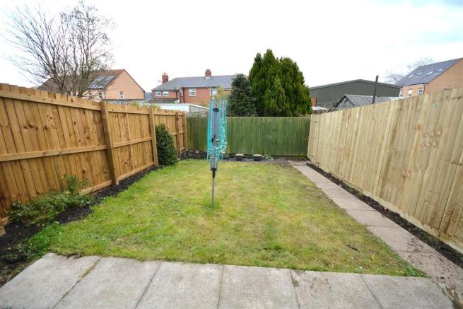 Rear Enclosed Garden