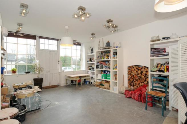 Main Reception As Artist's Studio