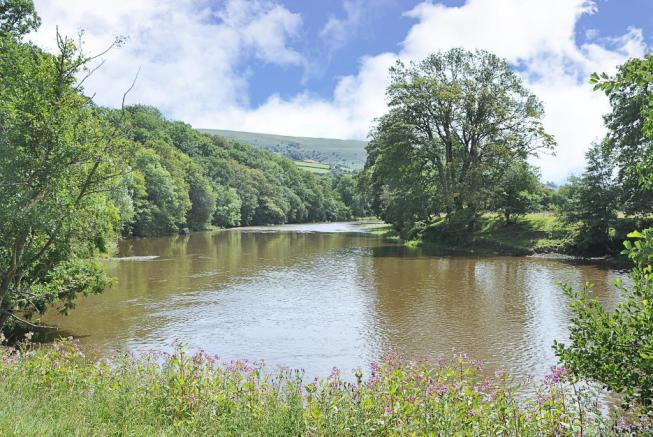 Adjacent To The River Wye