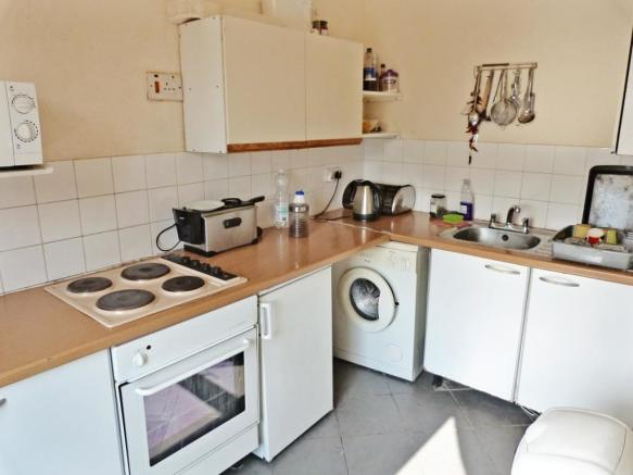 Kitchen - two bed flat