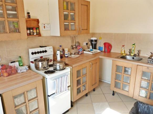 Kitchen - one bed flat