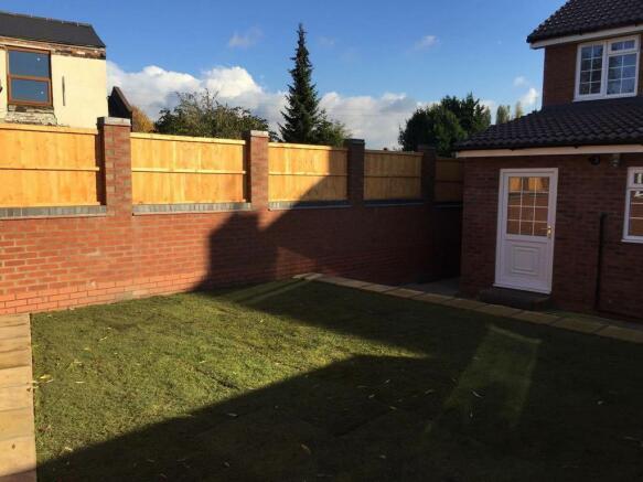 Back of house/garden