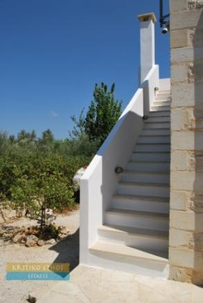 Roof terrace stairs