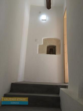 Stairway and niche