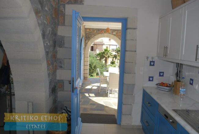 Kitchen to veranda