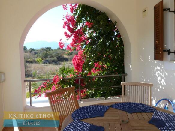 Kitchen veranda