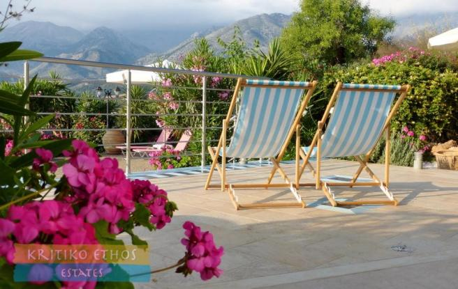 Deckchairs with view