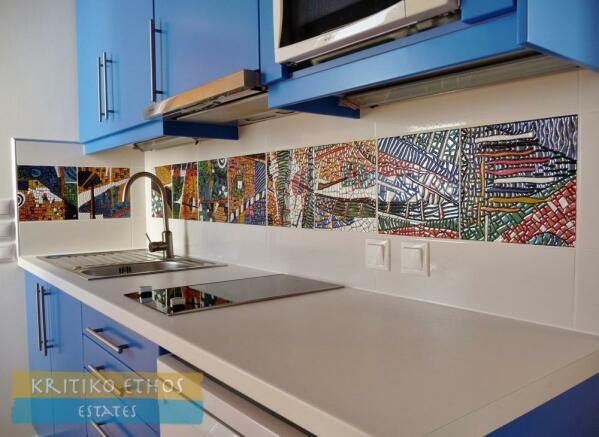 Kitchenette worktop