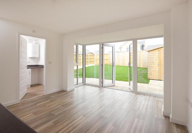 Dining space/utility in Plot 76