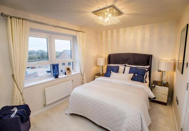 Winwick double bedroom