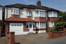 semi detached home in Byron Avenue...