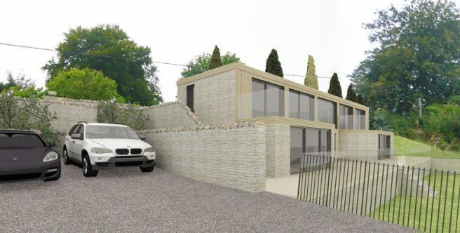 Proposed house...